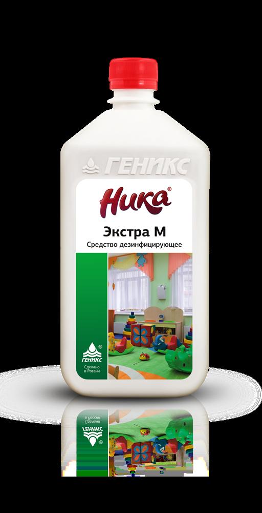 «Ника-Экстра М» Средство дезинфицирующее (концентрированное) 1 л